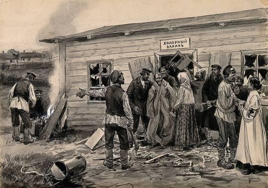 Признаки холеры