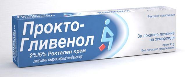 Обзор препарата проктогливенол