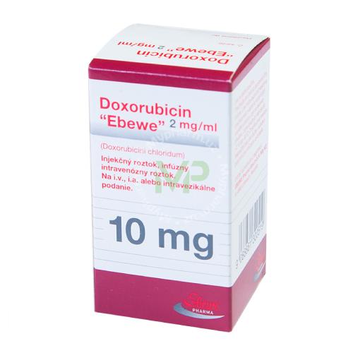 Доксорубицин - инструкция по применению, 1 отзыв, 17 аналогов