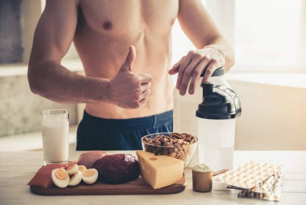 Фитнес диета мужская