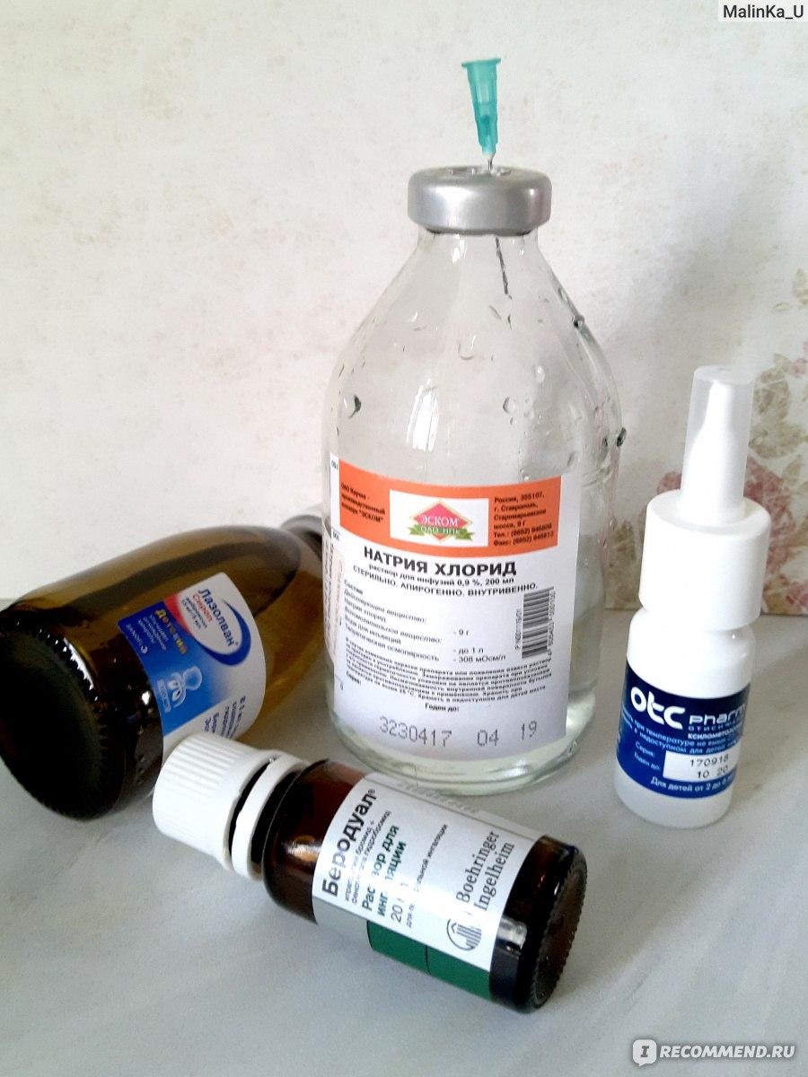 Раствор, аэрозоль беродуал: инструкция по применению для ингаляций