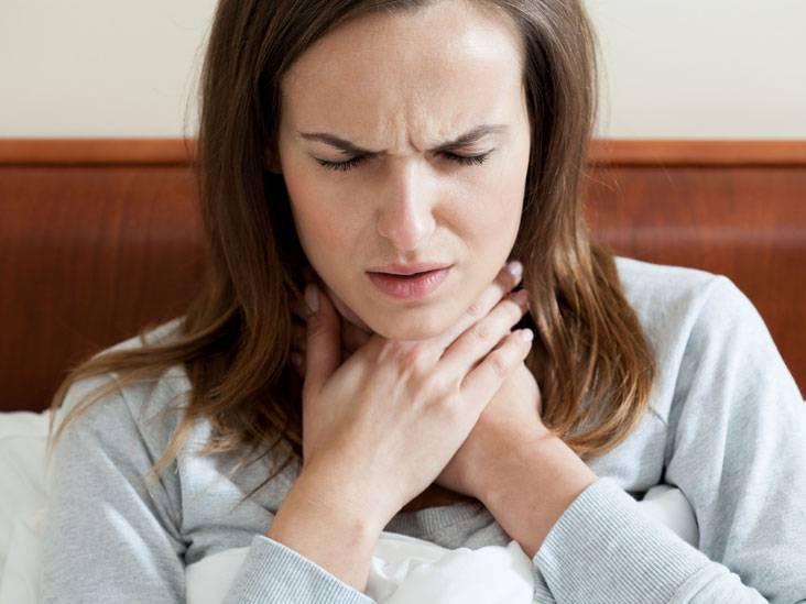Острый ларингит при простуде: симптомы, признаки, лечение