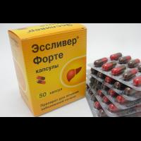 Эссливер форте: как принимать лекарство, побочные эффекты