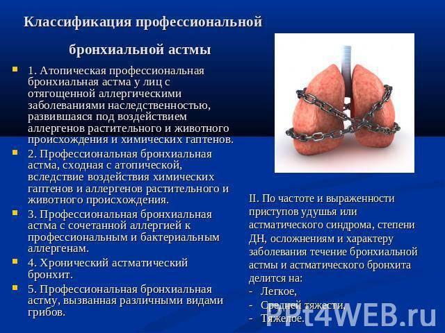 Причины, симптомы, лечение смешанной бронхиальной астмы