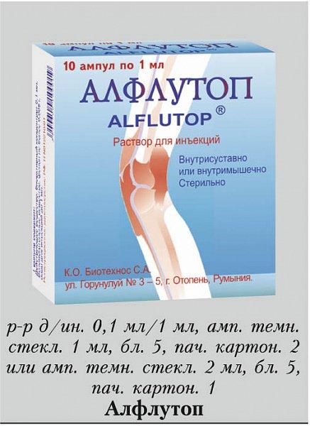 Уколы алфлутоп: действие, инструкция по применению, отзывы