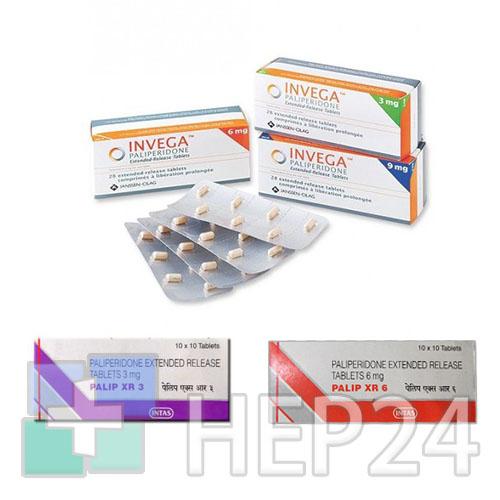 Paliperidone                             (палиперидон)