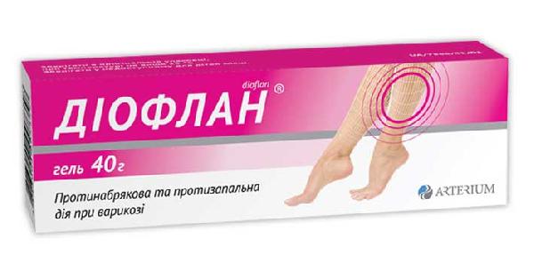 Диофлан гель