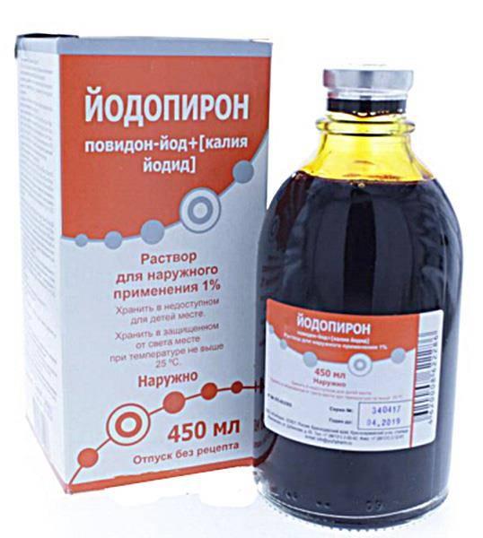 Йодопирон – инструкция по применению раствора, цена, отзывы, аналоги