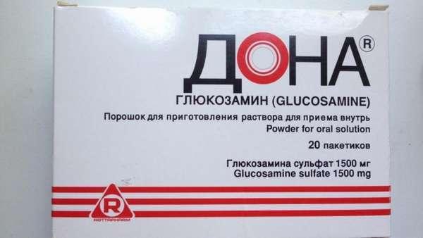 Глюкозамин: таблетки 300 мг и порошок