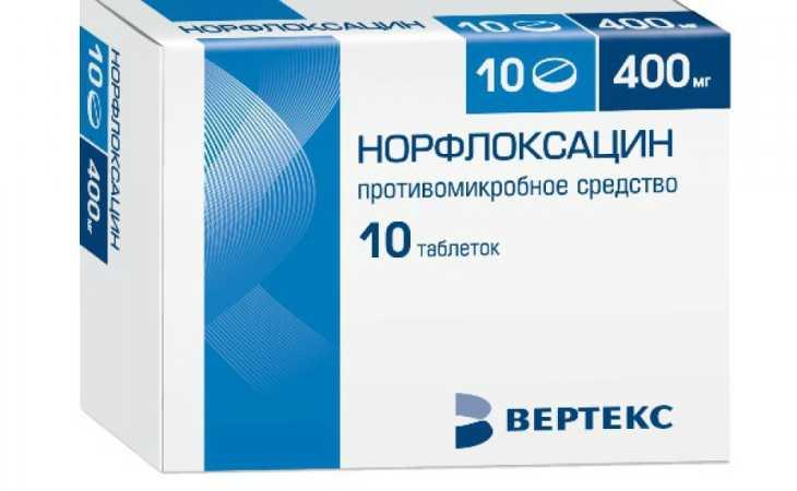 Аналоги таблеток норфлоксацин