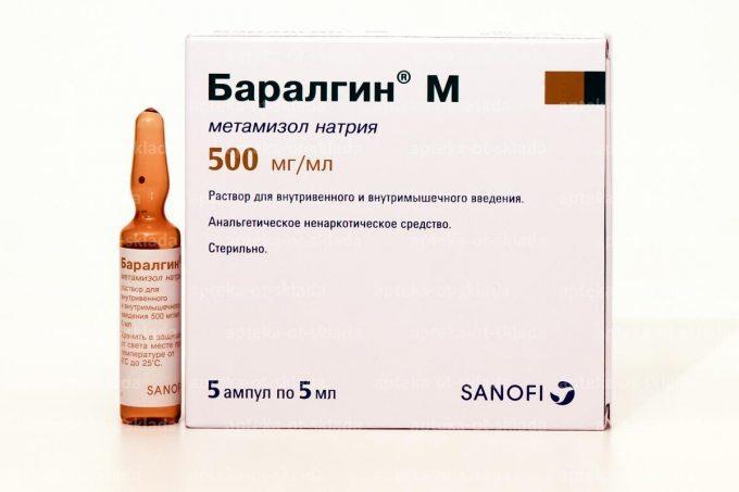 Уколы баралгин: состав, показания и противопоказания, побочные эффекты