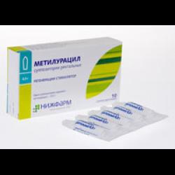 Использование свечей метилурацил в гинекологии