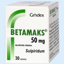 Бетамакс – инструкция по применению таблеток, отзывы, аналоги, цена