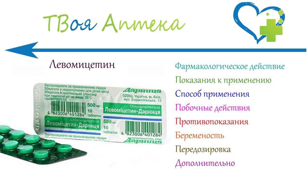 Левомицетин при диарее у взрослых
