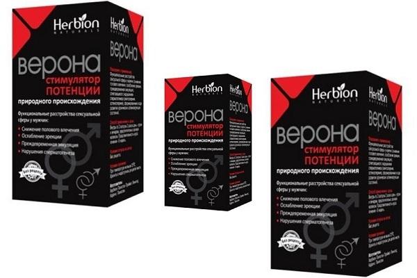 Верона: состав таблеток для мужчин и инструкция по применению