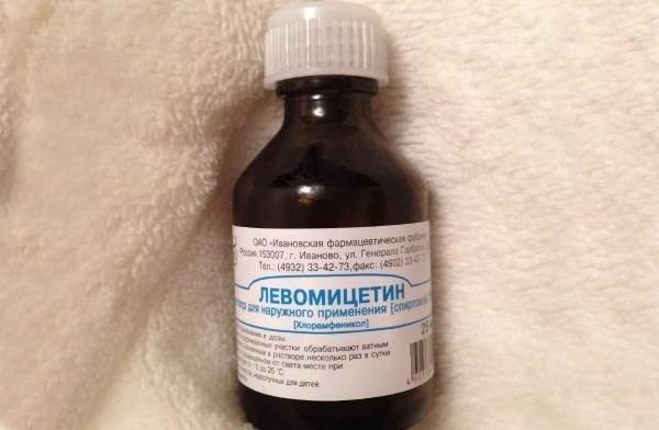 Левомицетиновый спирт при отите: показания к применению, дозировки и правила использования