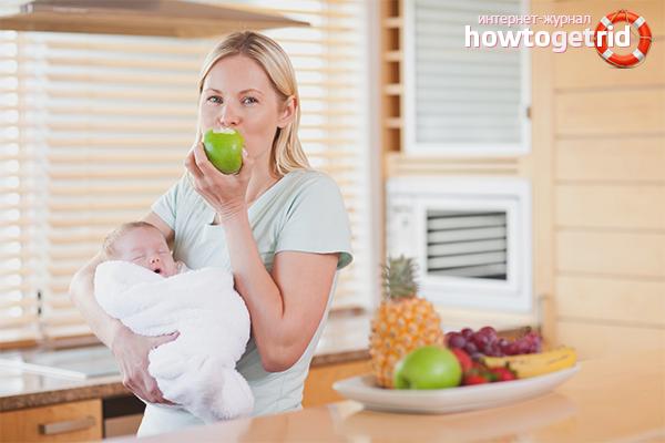 Правильный рацион: что можно кушать кормящей маме