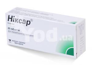 Аналоги таблеток никсар