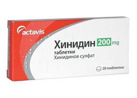 Состав, описание, аналоги и инструкция по применению препарата хинидин