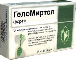 Отзывы о препарате геломиртол форте