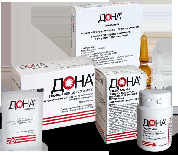 Таблетки дона для лечения суставов