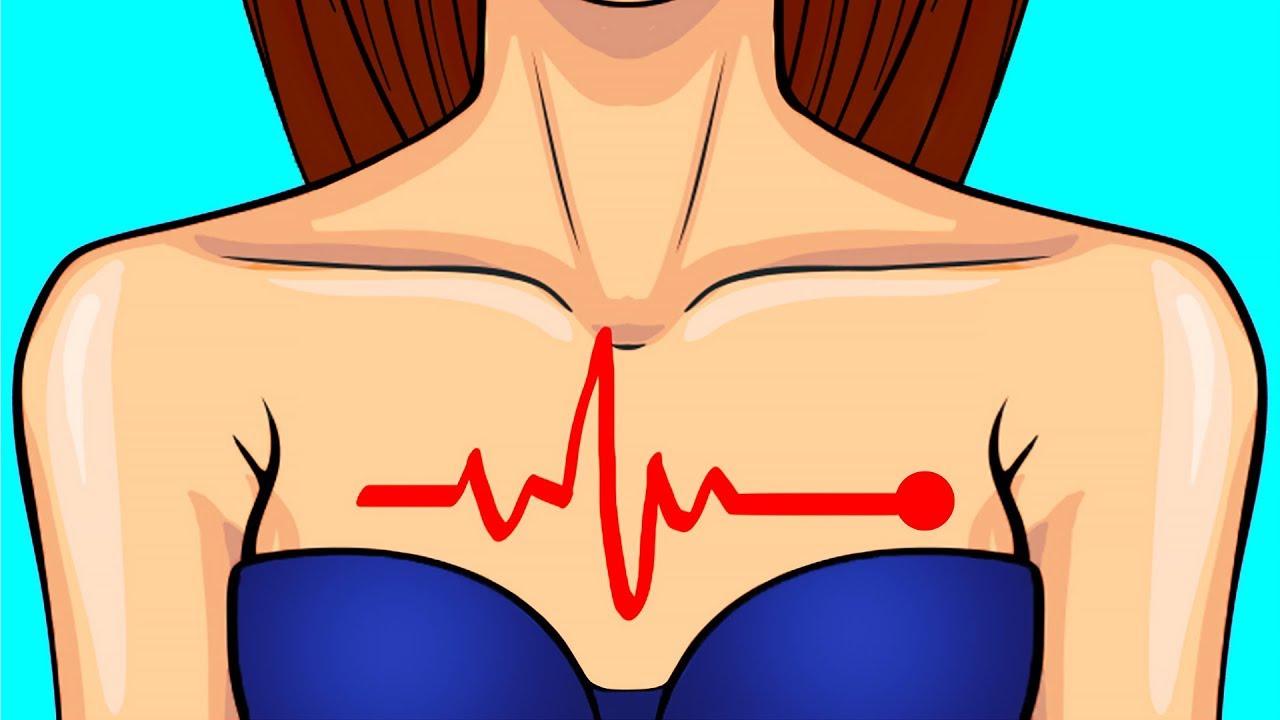 Признаки инфаркта у женщины первая помощь