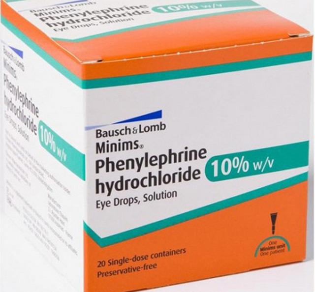 Капли для глаз с фенилэфрином: кому и когда назначают