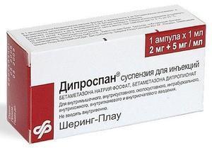 Уколы дипроспан: курс лечения и отзывы о препарате