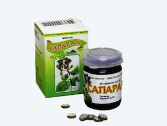 Лекарственное средство от гипотонии и астении - сапарал