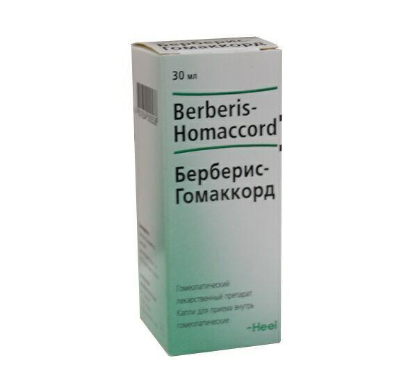 Берберис-гомаккорд: инструкция по применению, описание, отзывы, применение