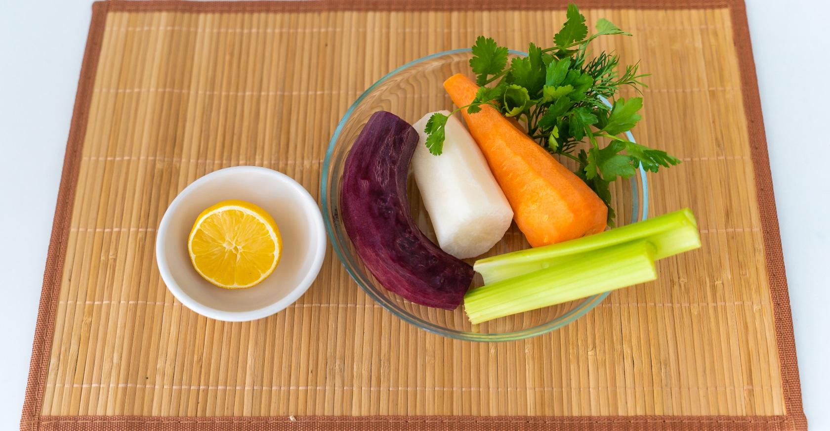 Салат «щетка» для похудения и очищения кишечника