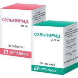 Сульпирид: инструкция по применению и для чего он нужен, цена, отзывы, аналоги
