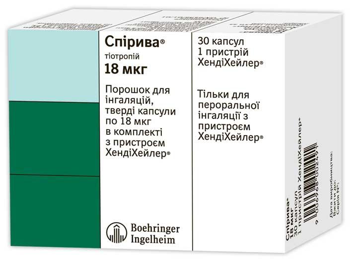 Особенности применения спирива и ухода за хандихалером