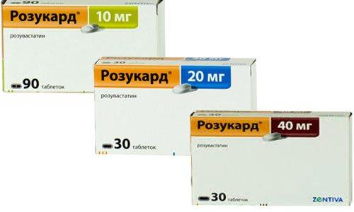 Инструкция по применению препарата розукард, аналоги и отзывы кто принимал препарат