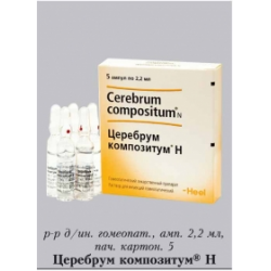 Инструкция по применению препарата церебрум композитум
