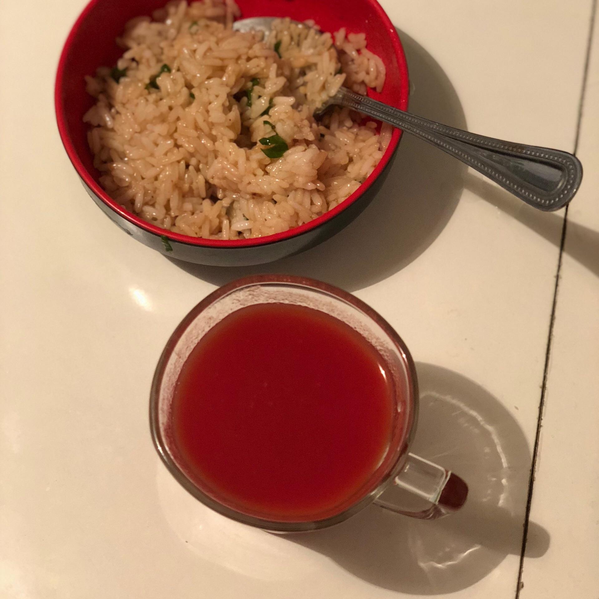 Рисовая диета с помидорами