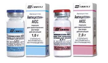 Инструкция по применению ампициллин в таблетках + аналоги + отзывы
