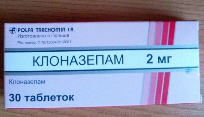 Инструкция по применению препарата клоназепам