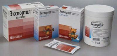 Порошок экспортал: инструкция по применению, лактитола моногидрат 10 г