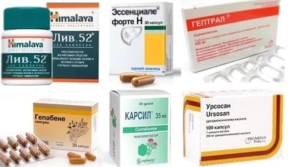 Лекарства для печени: список препаратов с доказанной эффективностью