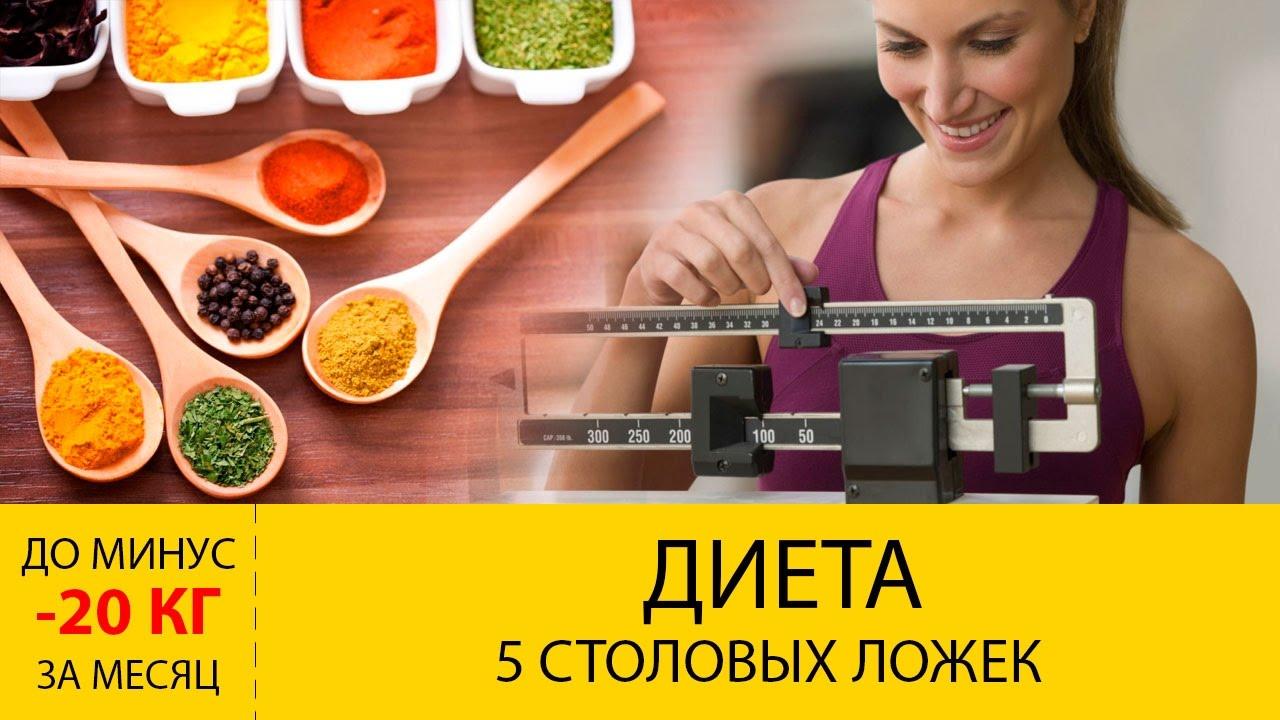 Диета «5 столовых ложек»: правильное похудение без ограничений, отзывы о применении