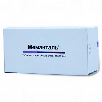 Инструкция к меманталь (таблетки)