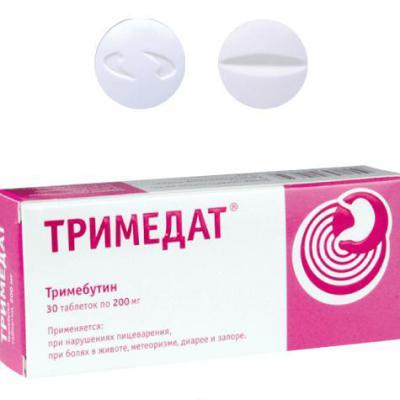 Тримедат: инструкция по применению и для чего он нужен, цена, отзывы, аналоги