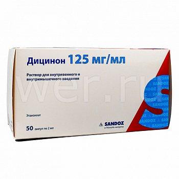 Таблетки дицинон: инструкция по применению