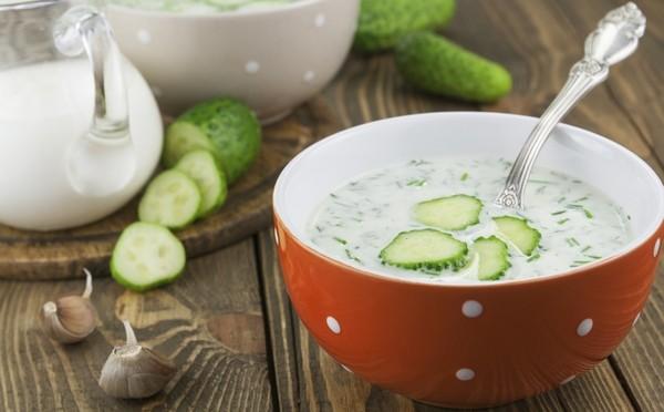 Диета на кефирной окрошке: меню на неделю с рецептами