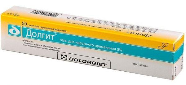 Ибупрофен гель
