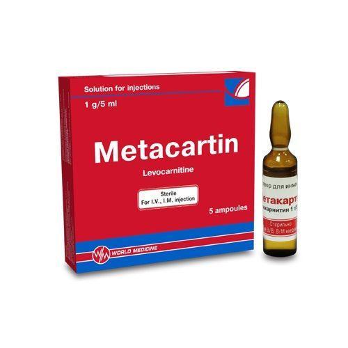 Метакартин: состав, показания, дозировка, побочные эффекты