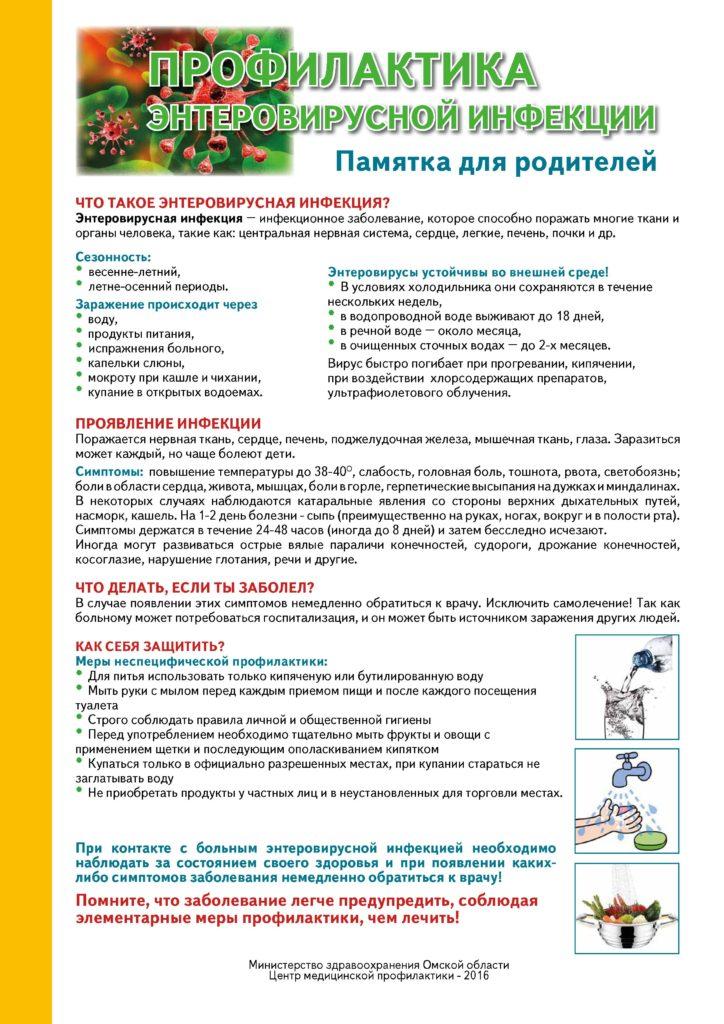 Противовирусное средство при энтеровирусной инфекции. лечение энтеровирусной инфекции у детей