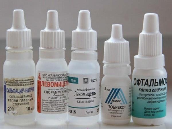 Сульфацил натрия, глазные капли 20% , 5 мл*