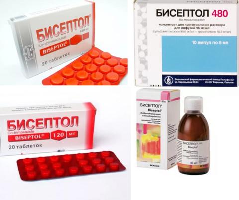 Таблетки бисептол для взрослых – в каких случаях и как правильно принимать?
